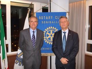 Rotary club di Senigallia: incontro con Giovanni Marizza