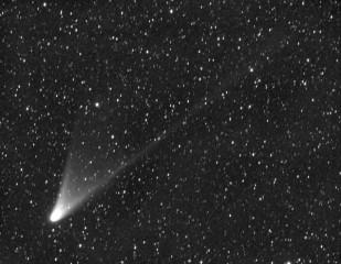 La cometa Panstars