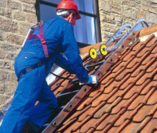 Lavori al tetto