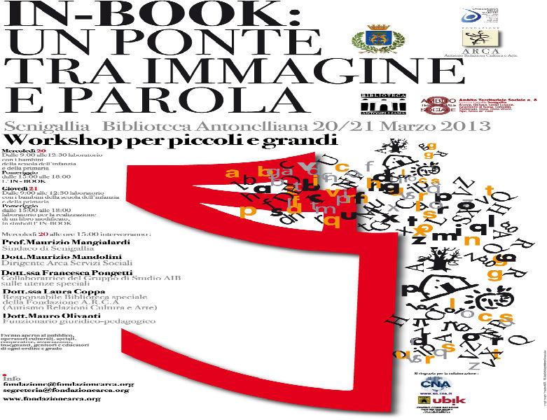 Incontro dedicato all'In-book, manifesto evento