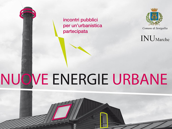 Locandina del seminario Nuove Energie Urbane