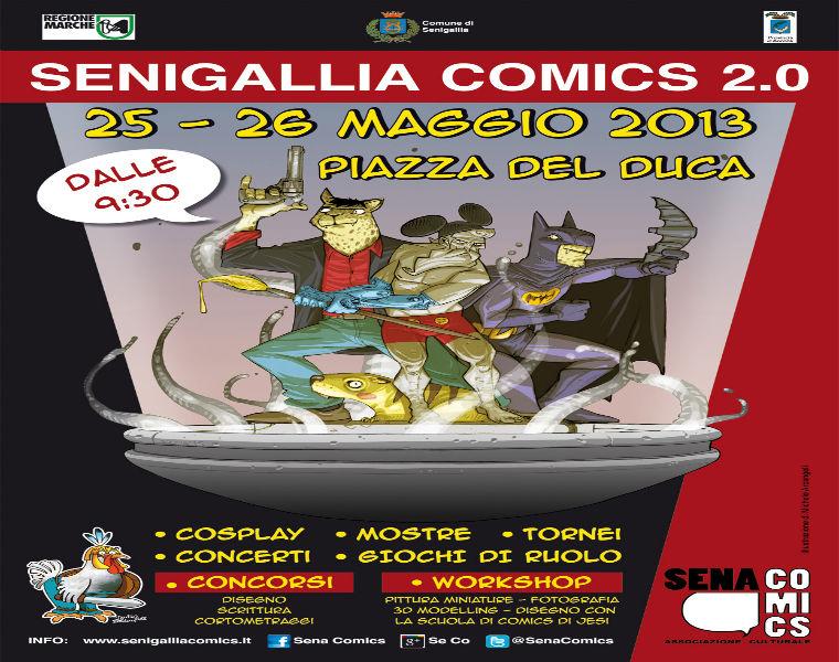 Senigallia Comics 2013, manifesto