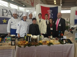 La delegazione del Panzini di Senigallia al Gran Trofeo d'Oro