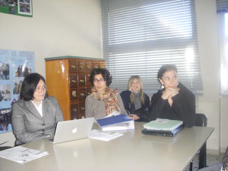 Alcuni dei componenti dell'Agim (Associazione genitori istituto Marchetti)