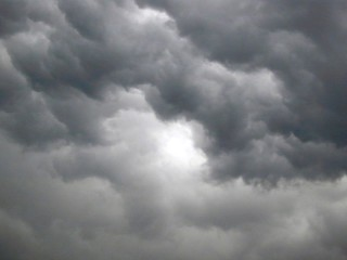 Nuvole, cielo coperto, nuvoloso