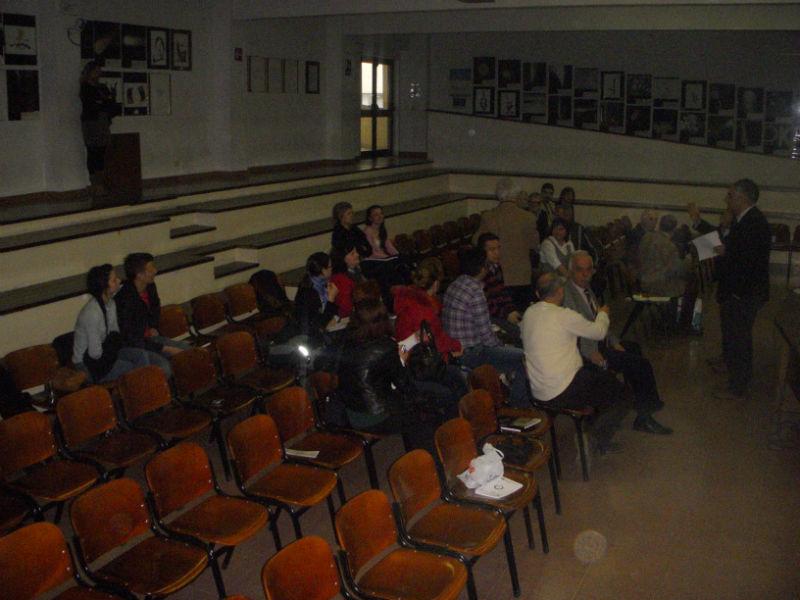 Alunni del Corinaldesi alla presentazione del progetto Givet