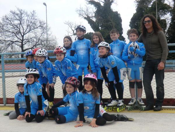 I Giovanissimi del Team Roller Senigallia