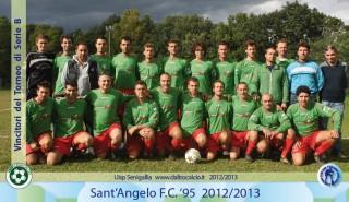 Il Sant'Angelo promosso in serie A del calcio Uisp