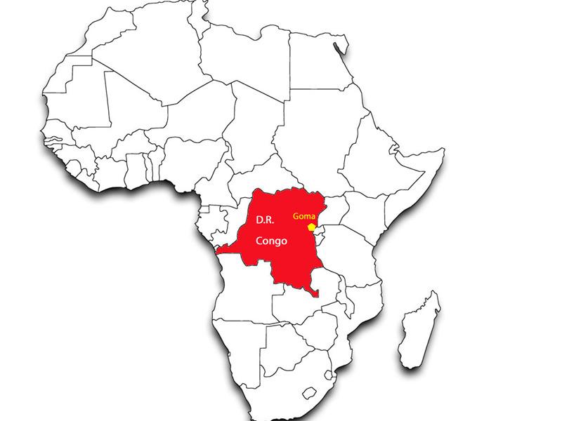 Cartina Dell Africa In Bianco E Nero.Mappa Dell Africa E Del Congo Senigallia Notizie