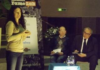 FameLab 2013 ad Ancona: Emanuela Mensà
