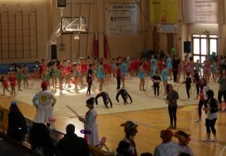 Giocagin 2013-esibizione atleti e dei Vip Claun Ciofega