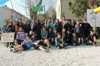 """Scout CNGEI e AGESCI festeggiano a Senigallia la """"Giornata mondiale del Pensiero"""""""