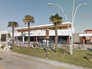 La stazione ferroviaria di Senigallia, in viale Bonopera