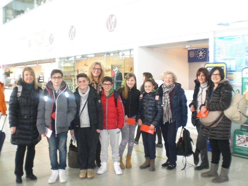 La delegazione dell'I.C. Senigallia Nord-Mercantini volato in Polonia
