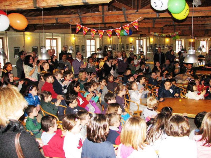 La festa per il secondo anniversario della Biblioteca Ragazzi di Senigallia