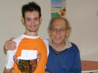 Il vincitore Faini Marco