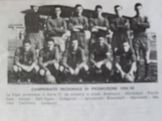 La Vigor Senigallia promossa nel 1959 in serie D