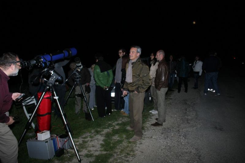L'osservazione dell'eclissi lunare organizzata dalla N.A.S.A.