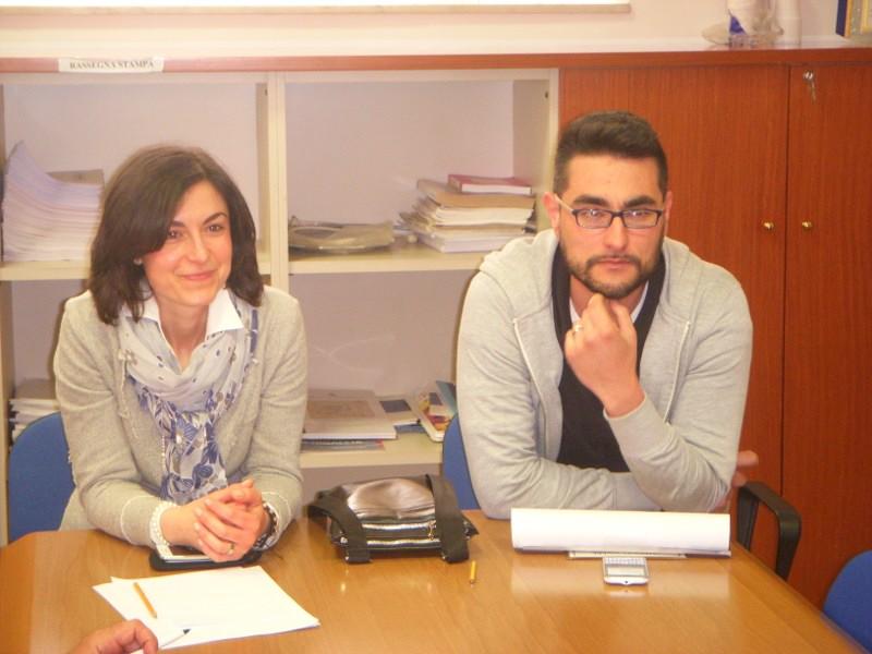 Francesca Francesconi e Maurizio Perini