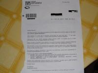 Lettera dell'INPS per la restituzione della quattordicesima