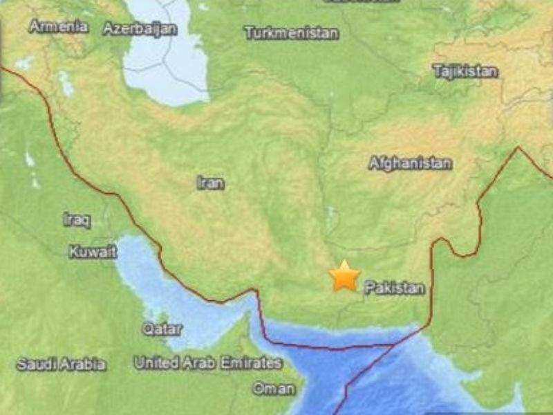 Iran: Il terremoto di magnitudo 7.8 del 16 aprile