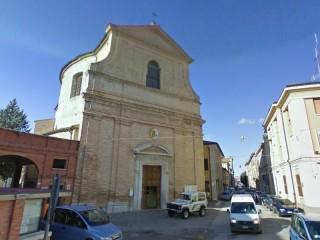 La chiesa della Maddalena, in via Cavallotti, a Senigallia
