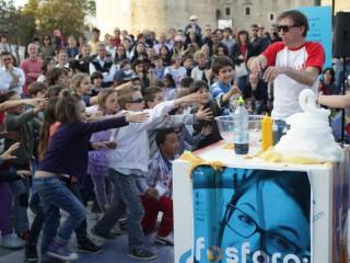 Dimostrazioni in piazza grazie a fosforo 2012