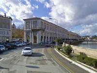 Senigallia: al centro palazzo Gherardi e i Portici Ercolani