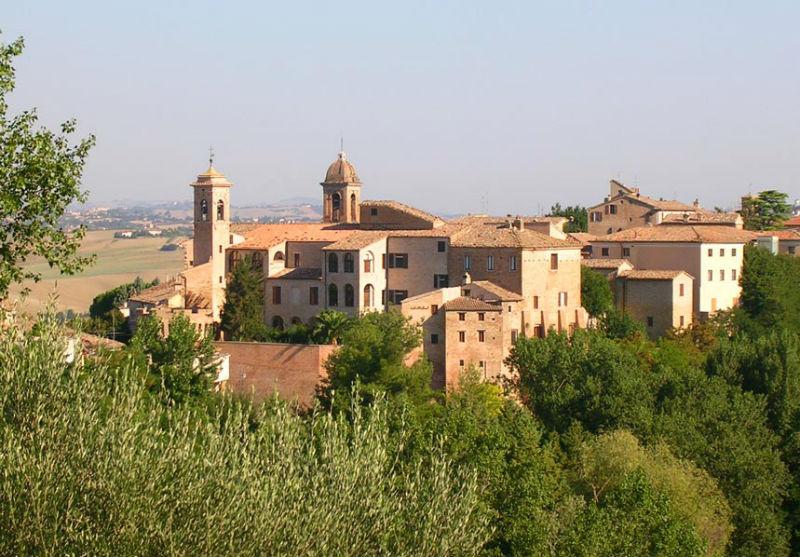 Panorama di Serra de' Conti