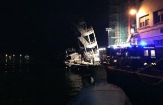 Incidente al porto di Genova