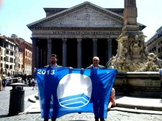 Maurizio Mangialardi e Gennaro Campanile a Roma per la Bandiera Blu 2013