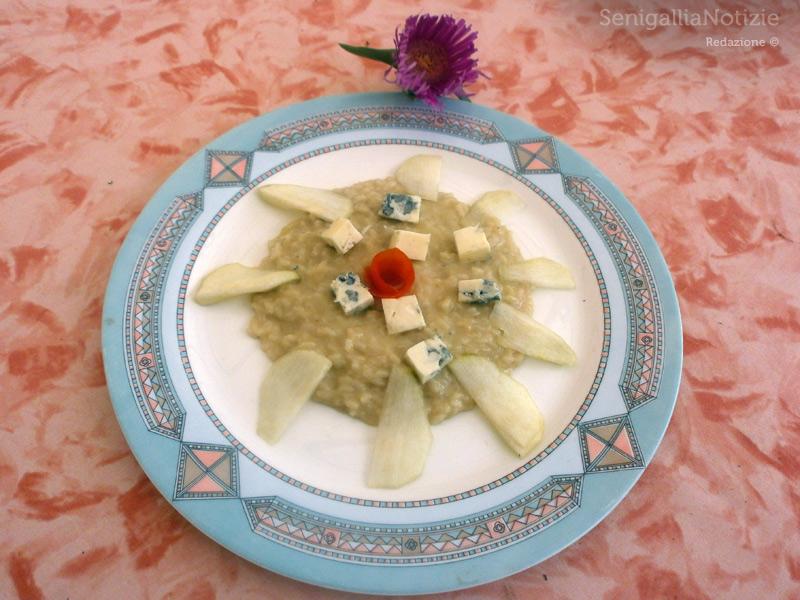 Risotto pere e gorgonzola