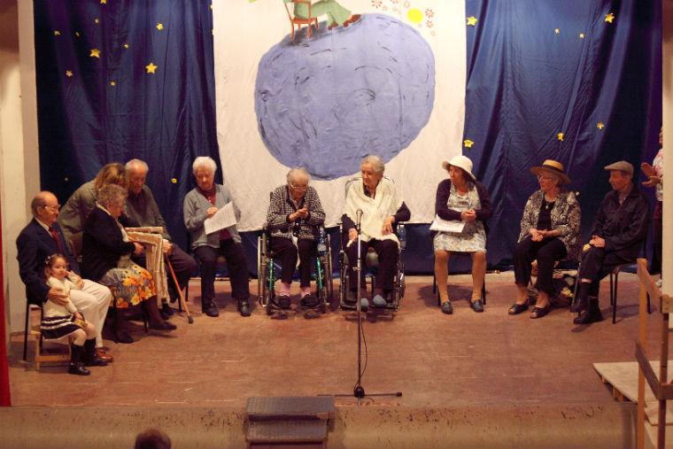 I protagonisti dello spettacolo teatrale della Cooperativa Progetto Solidarietà