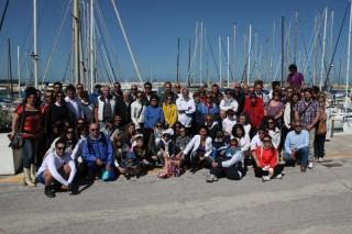 In mare per Chanel - foto di gruppo