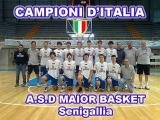 La Maior, campione d'Italia Under 19