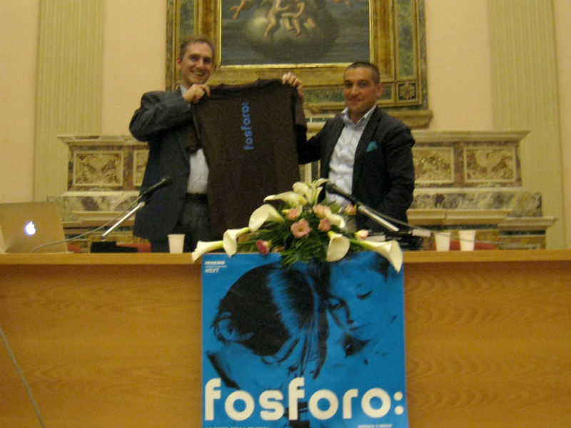 Paolo Attivissimo e Marcello Pagliari alla Chiesa dei Cancelli di Senigallia per fosforo, la festa della scienza