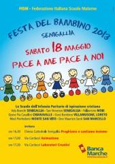 locandina per la festa del bambino 18 maggio 2013