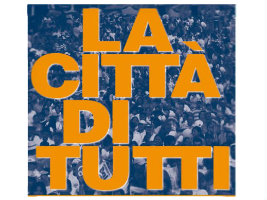 """il logo dell'iniziativa """"La Città di Tutti"""""""