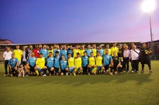 I protagonisti dell'All Star Game del calcio Uisp (2012)