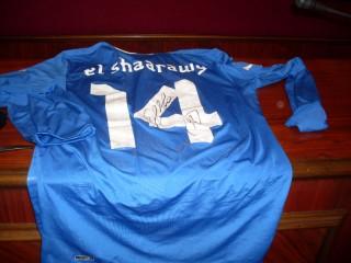 La maglia azzurra di El Shaarawy all'asta