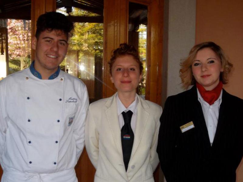I tre alunni del Panzini premiati al concorso di cucina di Melfi