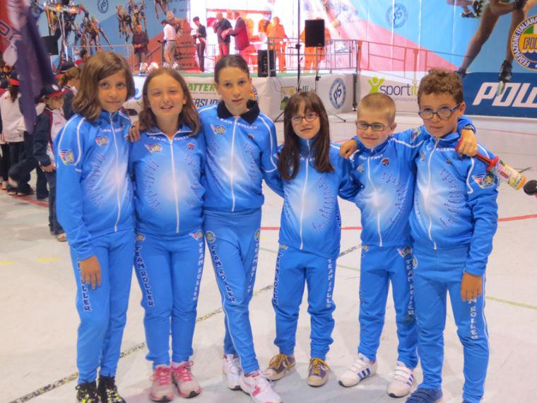 Giovanissime promesse del Team Roller Senigallia