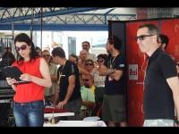 CaterRaduno 2013 in diretta dalla spiaggia di Senigallia: Natascha Lusenti e Filippo Solibello