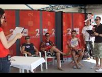 CaterRaduno 2013 in diretta dalla spiaggia di Senigallia: gli ospiti e il quizzone
