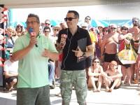 Paolo Belli ospite di FIlippo Solibello al CaterRaduno 2013 in diretta dalla spiaggia di Senigallia