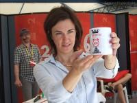 """CaterRaduno 2013 in diretta dalla spiaggia di Senigallia: Cinzia Poli presenta il sacro """"Graam"""""""