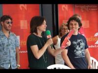 Cinzia Poli dà il via al CaterRaduno 2013 in diretta dalla spiaggia di Senigallia