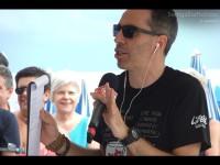 Filippo Solibello al CaterRaduno 2013 in diretta dalla spiaggia di Senigallia