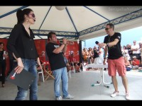 Michele Samorì suona la tromba al CaterRaduno 2013