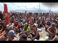 Il popolo del CaterRaduno 2013 sulla spiaggia di Senigallia